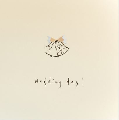Pencil Shaving Card, Wedding Bells