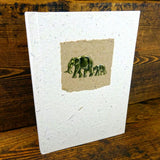 Elephant Dung Paper Notebook