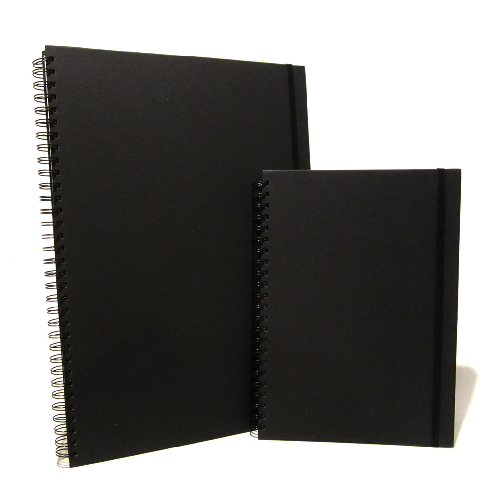 A3/A4 Black Portrait Scrapbook, Art Book, Sketchbook, Display Book, Photo Album