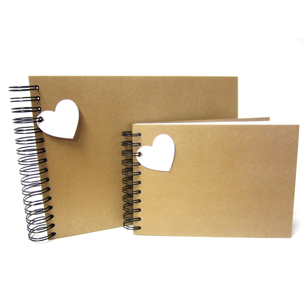 Blank A3/A4/A5/Square Vintage Kraft Scrapbook, Photo Album, Guest Book, Display, Gift