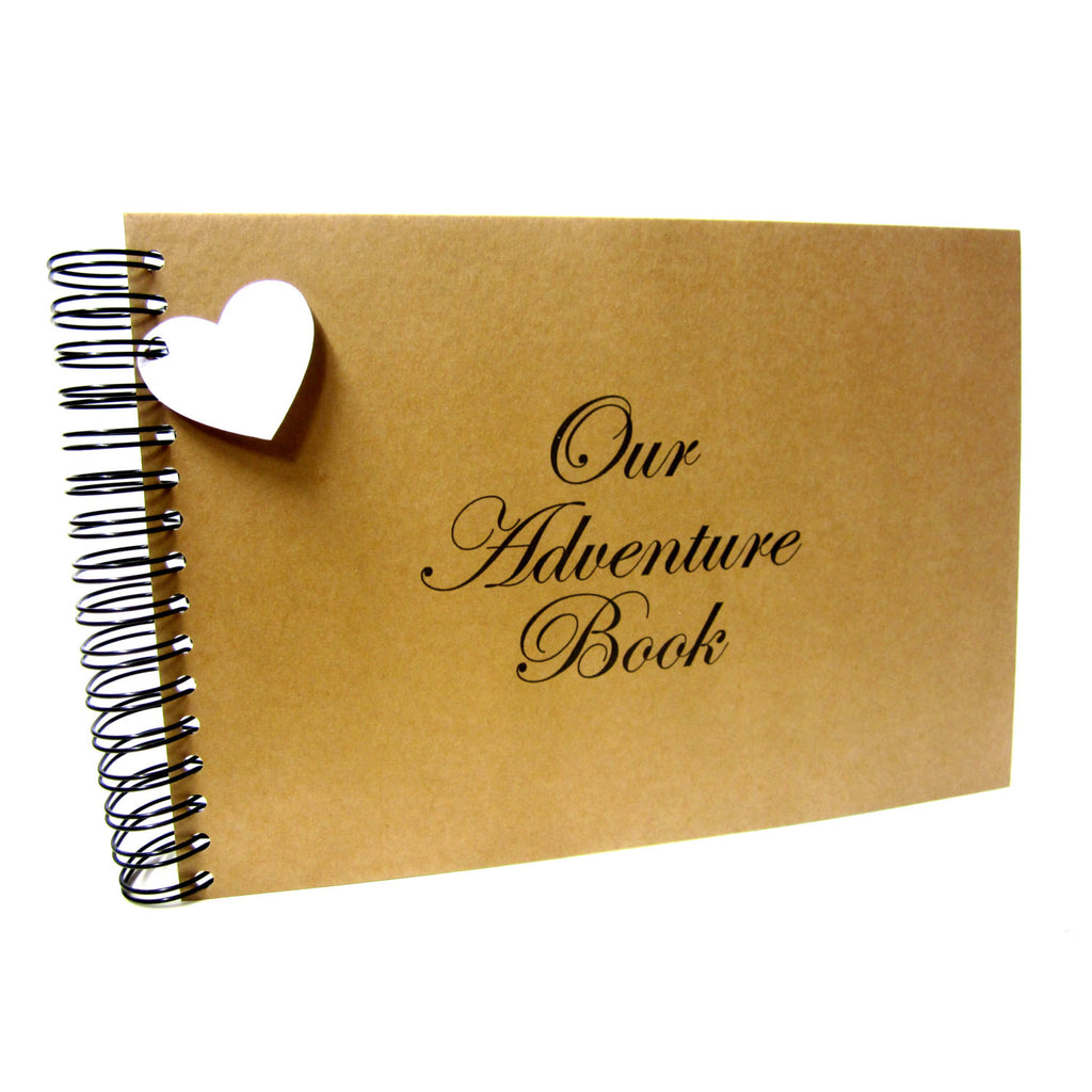 A3/A4/A5/Square, Our Adventure Book Scrapbook, Landscape, Card Pages, Photo Album, Keepsake,