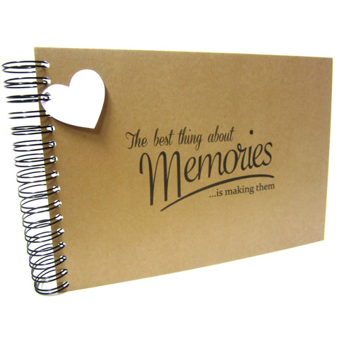 A3/A4/A5/Square, Best Memories Scrapbook, Landscape, Card Pages, Photo Album, Keepsake