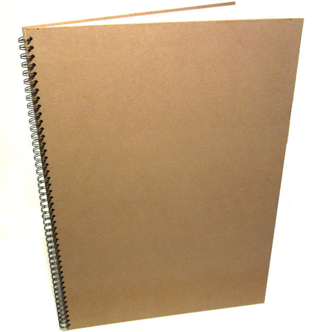 A2 Large Portrait Scrapbook, Sketchbook, Display Art Book, Kraft Hardboard
