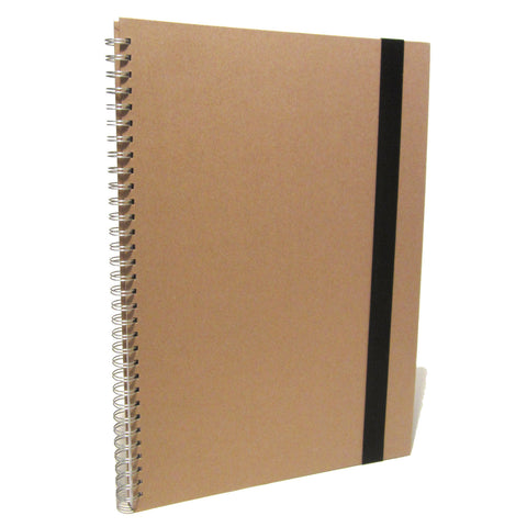 A3 Large Portrait Scrapbook, Photo Album, Memory Book, Journal, Project, Kraft