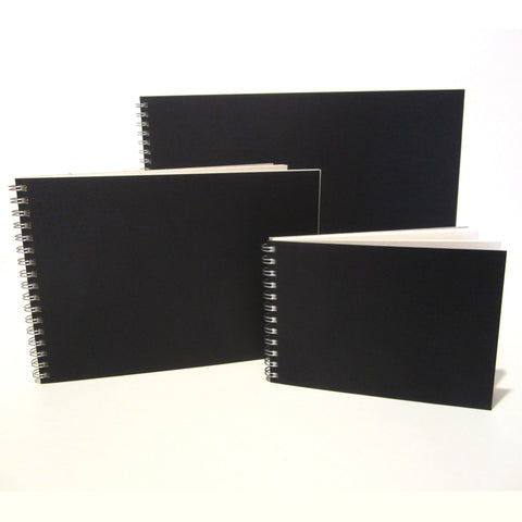 A6, A5, A4, A3 Scrapbook/Sketchbook, Landscape, DIY Photo Album, Cartridge Paper