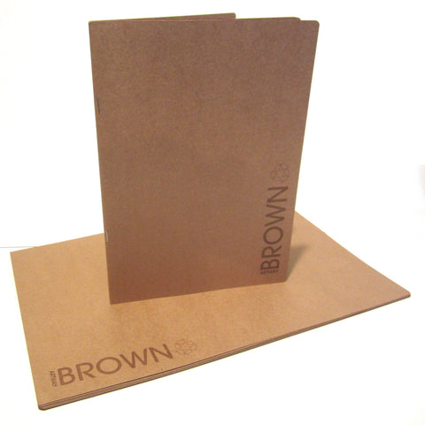 A3/A4 Portrait Kraft Sketchbook, Art Book, Scrapbook, Brown Natural Pages, Paper