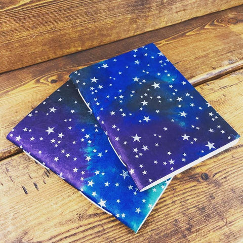 A3/A4/A5/A6 Handmade 'Shining Star' Notebook