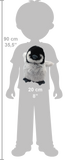 Wild Republic Lille Pingvin - Cuddlekins Mini Penguin Playful 20 cm