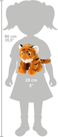 Wild Republic CK Mini Tiger Baby Bamse 20 cm