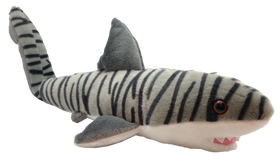 Animal Planet fra Wild Republic Tigerhaj Bamse - Shark Week Tiger Shark 35 cm