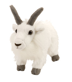 Wild Republic Lille Bjergged Bamse - Cuddlekins Mini Mountain Goat 20 cm