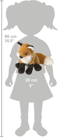 Wild Republic Lille Ræv Bamse - Cuddlekins Mini Red Fox 20 cm