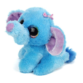 "Wild Republic Li'l Sweet & Sassy ""Blueberry"" Elefant Bamse 13 cm"
