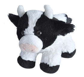 Wild Republic Lille Ko - Hug'ems Mini Cow 18 cm (#18091)