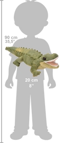 Wild Republic CK Mini Alligator Bamse 18 cm