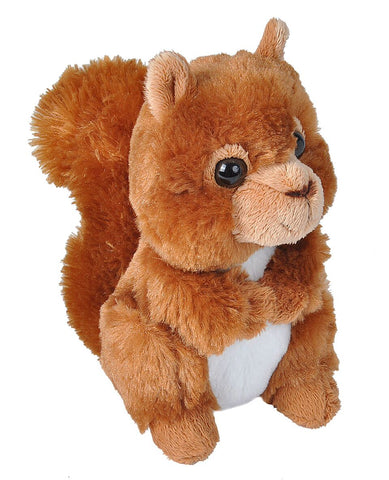 Wild Republic Rød Egern - Hug'ems Mini Red Squirrel 16 cm