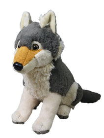 Wild Republic Stor Ulv Bamse - Traditional Wolf Large 35 cm