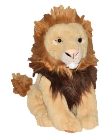 Wild Republic Stor Løve Bamse - Traditional Sitting Lion Large 35 cm