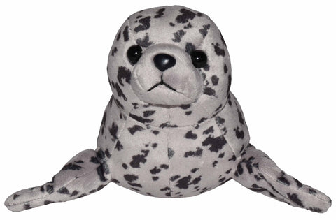 Wild Republic Lille Sæl Bamse med realistiske lyde - Wild Calls Harbor Seal with Authentic Sounds 18 cm