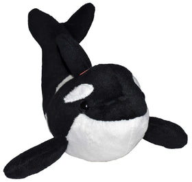 Wild Republic Lille Spækhugger Bamse med realistiske lyde - Wild Calls Orca with Authentic Sounds 20 cm