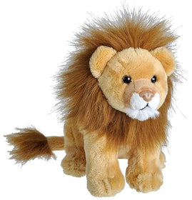 Wild Republic Lille Løve Bamse med realistiske lyde - Wild Calls Lion with Authentic Sounds 18 cm