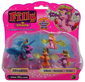 Filly Stars Special Glitter Crystals from Swarovski - 4 stk
