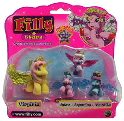 Filly Stars Special Glitter Crystals from Swarovski (sortiment) - 1 model leveres