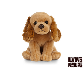 Living Nature Cockerspaniel Hund 16 cm (lille)