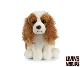 Living Nature Cavalier King Charles Spaniel Hund 23 cm (medium)