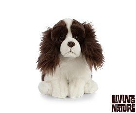 Living Nature Springer Spaniel Hund 25 cm (medium)