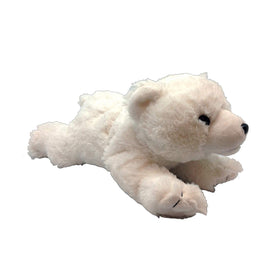 Animal Planet Isbjørn Bamse fra Wild Republic 25 cm