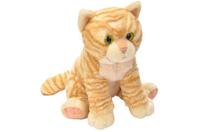 Animal Planet Kat Bamse - Tabby Striped Cat Orange/White 35 cm