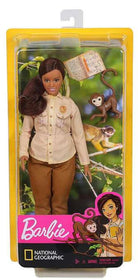 Barbie Dukke National Geographic Wildlife Dyreforkæmper med Abe