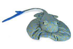 Wild Republic Blå Rokke Bamse - CK Blue Spotted Ray