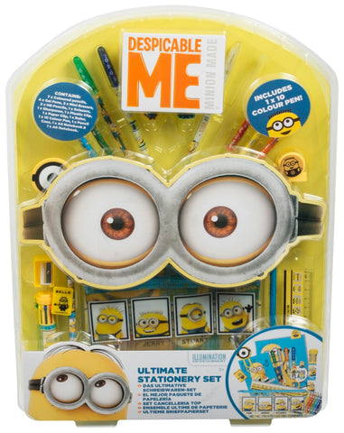 Despicable Me Minions Ultimate Stationery Set