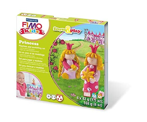 Fimo Kids Form & Play Princesse Sæt