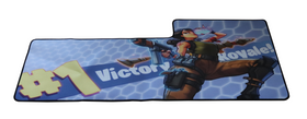 Fortnite Gamer Musemåtte Stor XXL Model H 89 cm x 38 cm