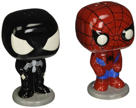 Funko POP! HOME Spider-Man and Black Suit Spider-Man - Salt N' Pepper Shakers (2 stk.)
