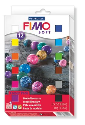 Staedtler Fimo Soft Colour Pack 8023 01 (12 x 25 g)
