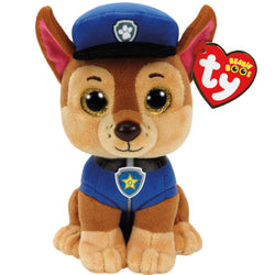 TY Beanie Boo's Collection PAW PATROL Chase Bamse 15cm (TY41208)