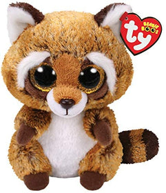 TY Beanie Boo's Collection Rusty Vaskebjørn 15 cm (TY36941)