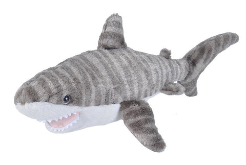 Wild Republic Lille Tigerhaj Bamse - CK Mini Tiger Shark 20 cm