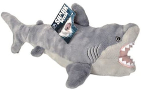 Wild Republic Animal Planet Hvid haj Bamse - Shark Week Great White Shark 31 cm