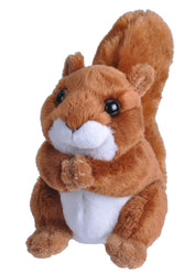 Wild Republic Lille Egern Bamse - Lil's Mini Squirrel 11 cm