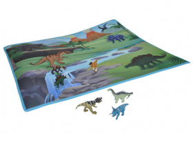 Wild Republic legemåtte dinosaur junior 78,7 cm x 71,1 cm