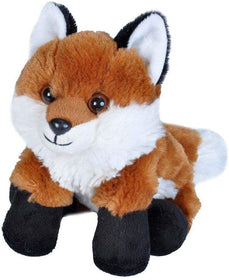 Wild Republic Hug'ems Lille Ræv Bamse - Mini Red Fox 18 cm