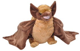 Wild Republic Flagermus Bamse - CK Bat Brown 30 cm