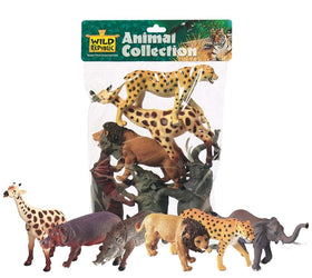 Wild Republic Afrikanske dyr figurer - African Collection 6 stk.