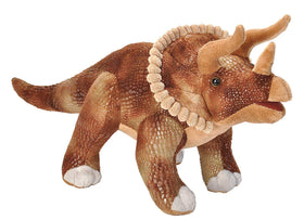 Wild Republic Animal Planet Dinosaur Triceratops Bamse 38 cm