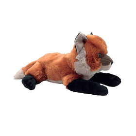 "Wild Republic Animal Planet ""Too Wild"" Baby Ræv Bamse - Red Fox Laying 25 cm"